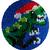 """синий """"динозавры"""""""