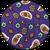 турецький огірок фіолетовий