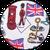 английский флаг белый