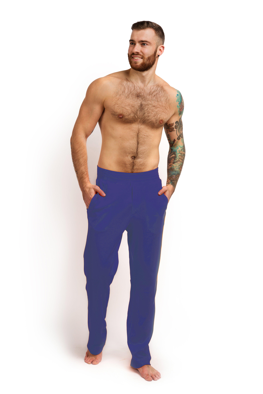 Штаны для дома хлопок тёмно-синий MansSet