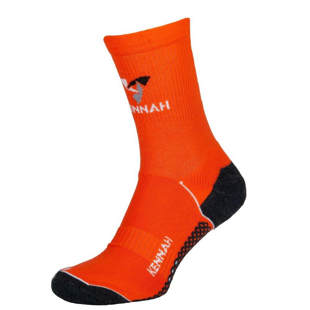 Носки мужские спортивные компрессионные мультиспорт, KENNAH, оранжевый MansSet