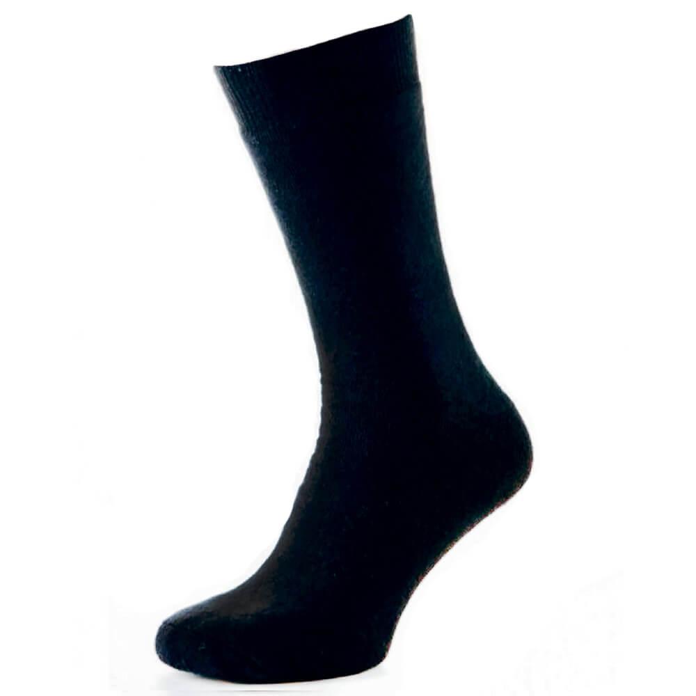Зимние мужские махровые носки Thermo, синий MansSet