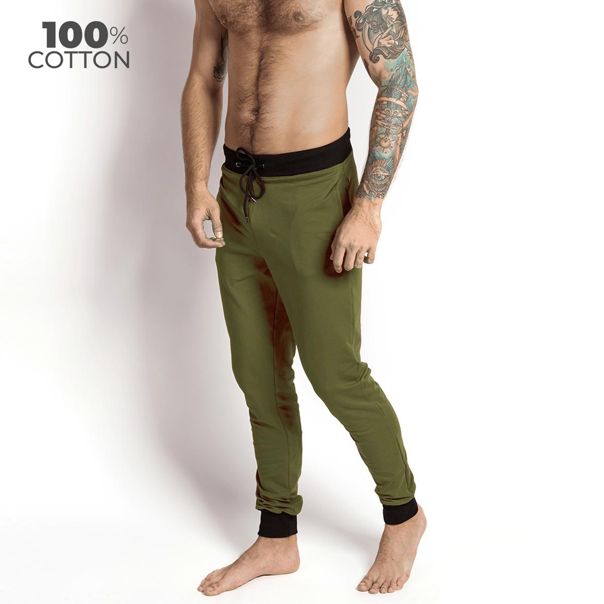 Мужские штаны для дома и отдыха Lounge Pants, хаки MansSet