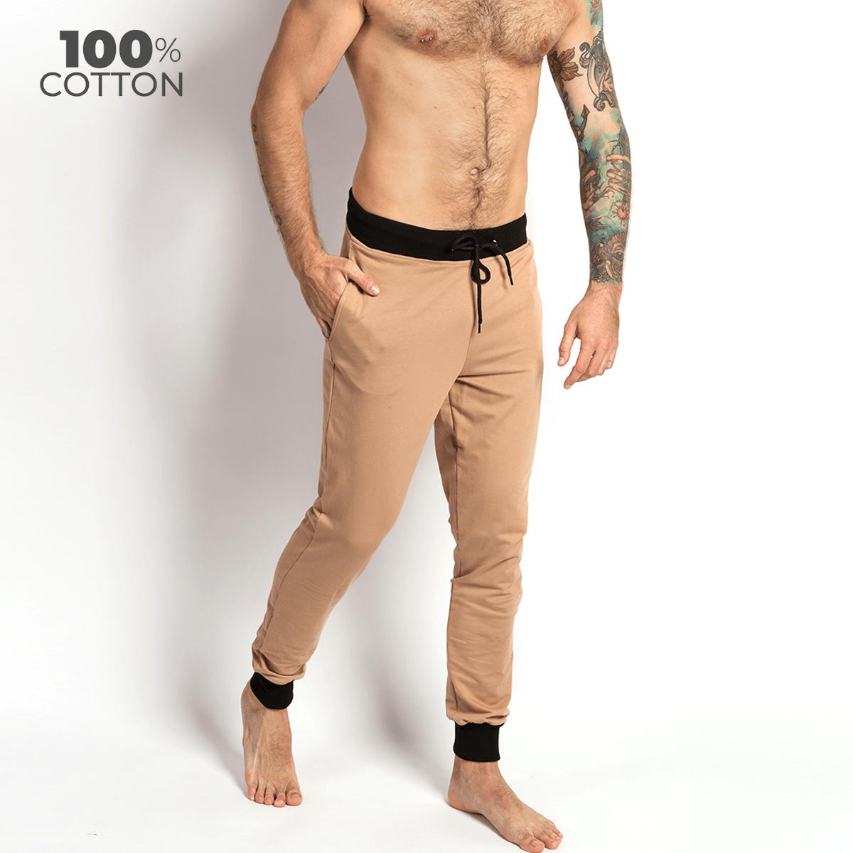 Мужские штаны для дома и отдыха Lounge Pants, бежевый MansSet